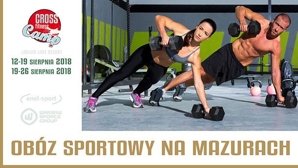 obóz sportowy na Mazurach